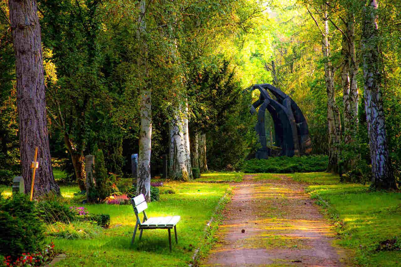 Begravning Högdalen
